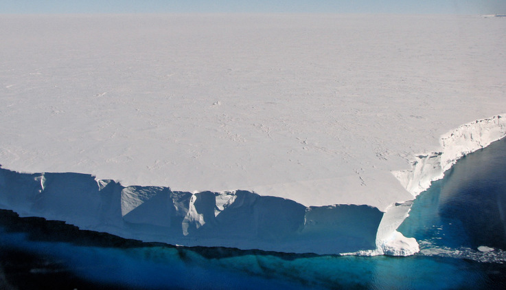 Der Mertz-Gletscher und seine Gletscherzunge liegen im australischen Sektor Antarktikas. Der