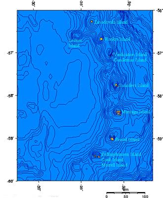 South-Sandwich-Islands-Karte