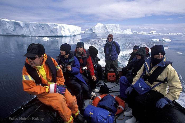 Zodiacfahrt-Antarktis