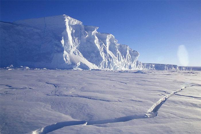 Eis-Antarktis