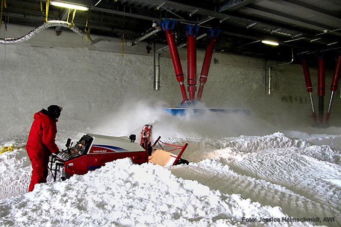 Anheben-Schneeschleuder