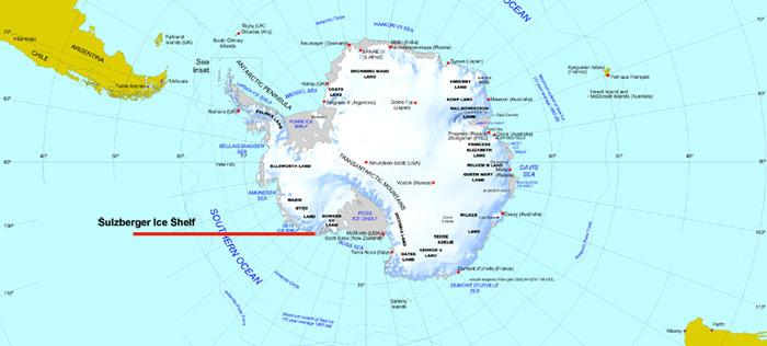 Sulzberger Ice Shelf