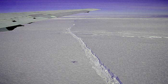 Pine Island Glacier Überflug