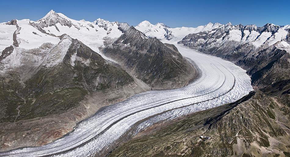 Zum Anstieg des Meeresspiegel tragen auch Gletscher ausserhalb der Antarktis bei.