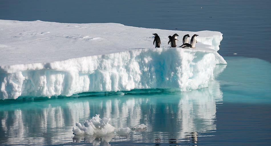 Besonders gross ist der Eisverlust in der West-Antarktis.