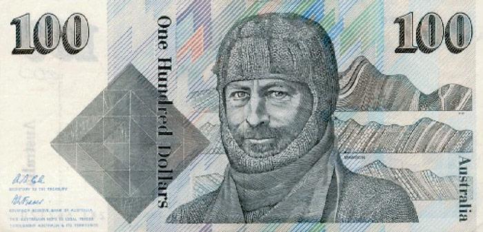 Mawson-Banknote