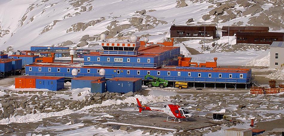 Das Ziel war die italienische Forschungsstation «Terra Nova Bay», wo das Flugzeug jedoch nie ankam.