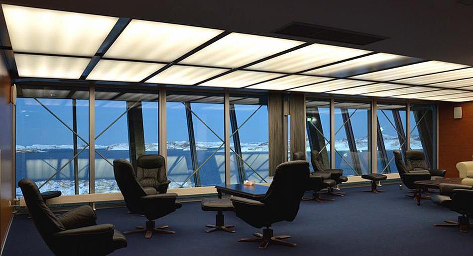 Platz zum Entspannen - Die Lounge