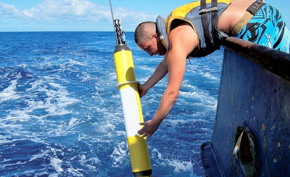 Über 30 Länder haben sich am Argo-Programm beteiligt und mittlerweile schwimmen rund 4'000 Sonden in den Weltmeeren. Dadurch hat sich unser Verständnis über die Vorgänge in den Weltmeeren massiv gesteigert. Bild: NIWA