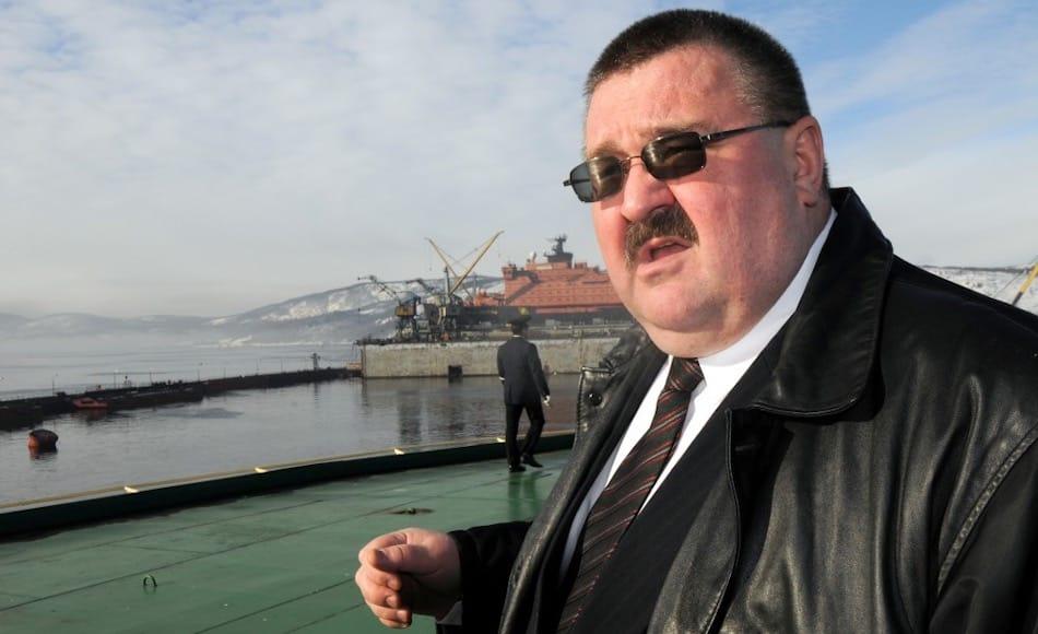 Der neue Leiter des Direktorates für die Nordmeerroute wird Vayasheslav Ruksha sein, dem bisherigen Leiter von Atomflot, dem Betreiber der Eisbrecherbasen. Auf ihn warten mit Klimawandel, wirtschaftlichen Sanktionen und sinkenden Rohstoffpreisen grosse Herausforderungen. Bild: Thomas Nielsen, Barents Observer