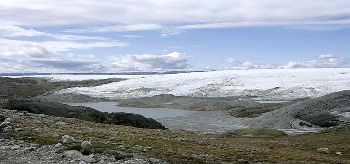 Gletscher-Land