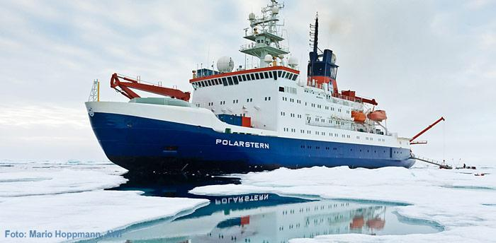 Polarstern in der Arktis