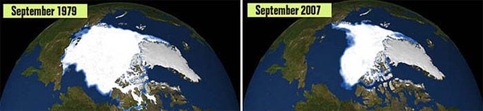 Eisschwund in der Arktis