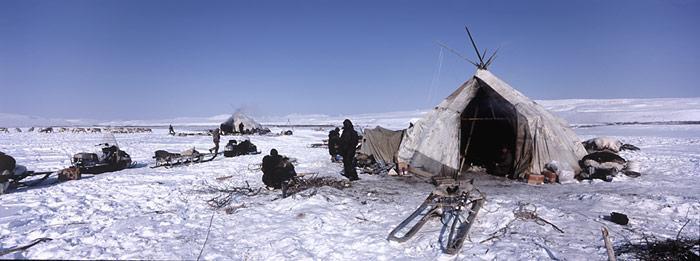 Tschukotka: Opfer des Klimawandels werden die Naturvölker der Arktis sein.