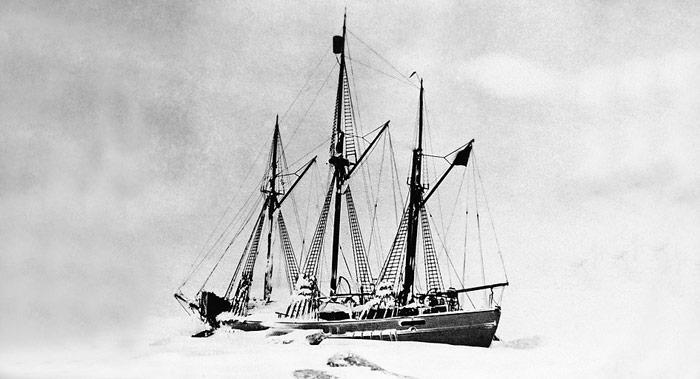 Die Expedition von Raold Amundsen stand seit Beginn unter keinem guten Stern und das angestrebte Ziel wurde nicht erreicht.