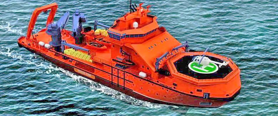 Die neuen Eisbrecher sind hoch spezialisiert und für die Suche und Bergung in Not geratener Schiffe und die Rettung von Menschen vorgesehen.
