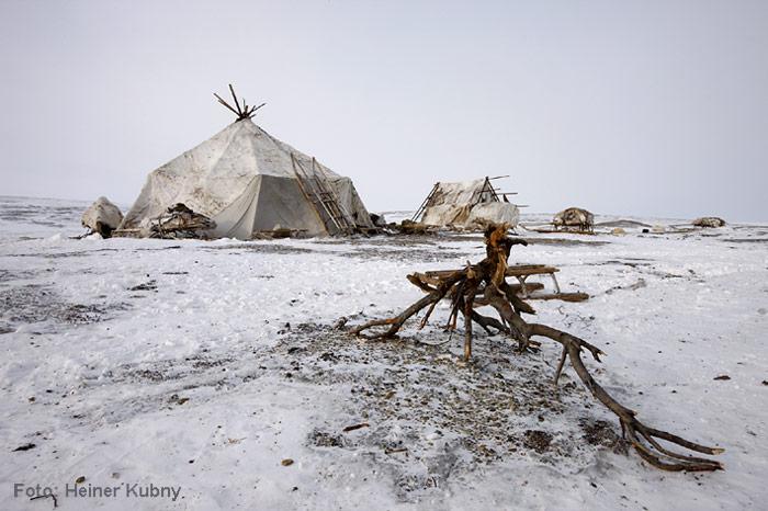 Chuktschi-Camp
