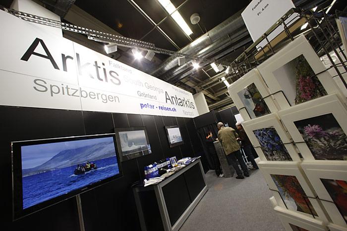 Für Polarfans gab es diverse Artikel zu erwerben.