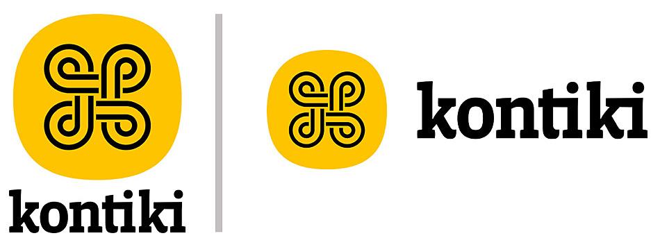 Das neue Kontiki-Logo gibt es in zwei Varianten.