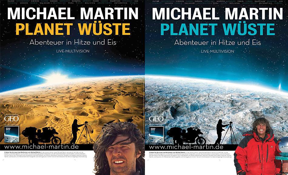 Nicht nur der Vortrag von Michael Martin ist spektakulär, auch das Buch «Planet Wüste» ist ein Juwel.
